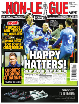 The Non-League Football Paper 30th December 2018