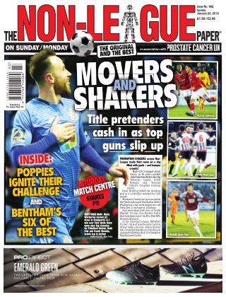 The Non-League Football Paper 20th January 2019