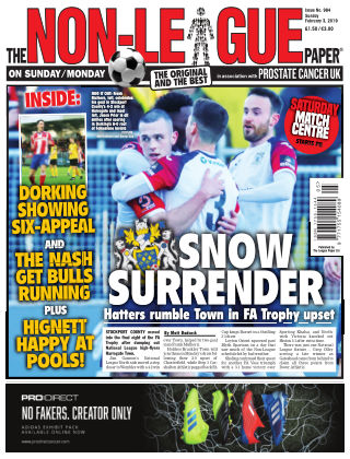 The Non-League Football Paper 3rd February 2019
