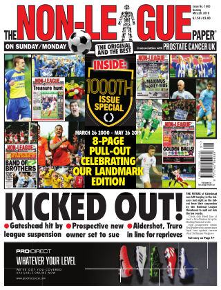 The Non-League Football Paper 26th May 2019
