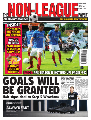 The Non-League Football Paper 14th July 2019