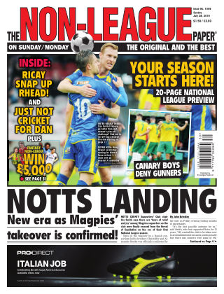 The Non-League Football Paper 28th July 2019