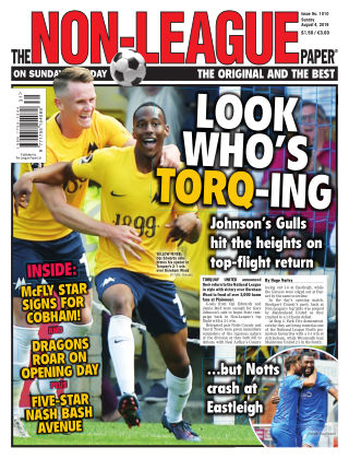 The Non-League Football Paper 4th August 2019