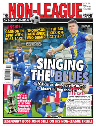 The Non-League Football Paper 11th August 2019