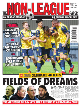 The Non-League Football Paper 18th August 2019