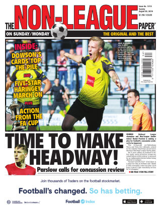 The Non-League Football Paper 25th August 2019