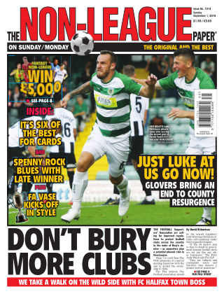 The Non-League Football Paper 1st September 2019