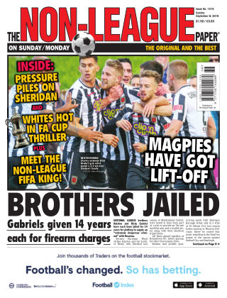 The Non-League Football Paper 8th September 2019