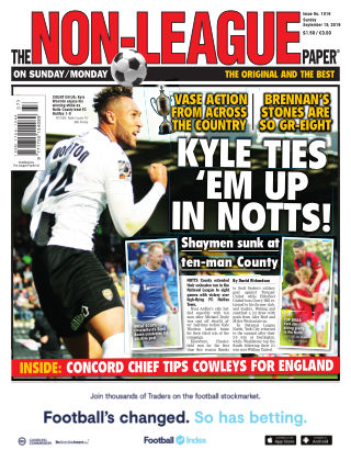 The Non-League Football Paper 15th September 2019