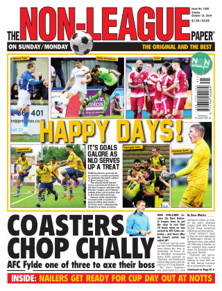 The Non-League Football Paper 13th October 2019