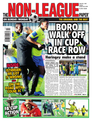 The Non-League Football Paper 20th October 2019
