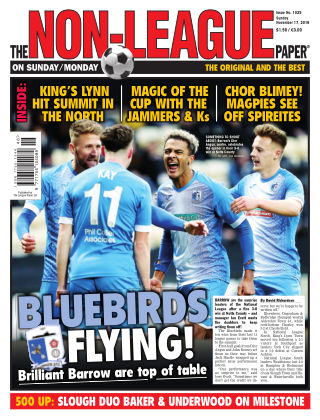 The Non-League Football Paper 17th November 2019