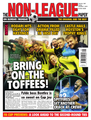 The Non-League Football Paper 1st December 2019