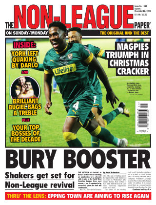The Non-League Football Paper 22nd December 2019