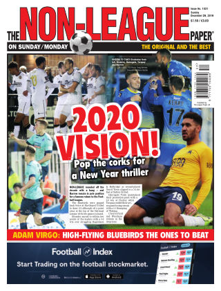 The Non-League Football Paper 29th December 2019