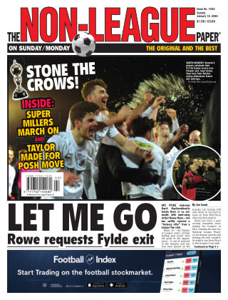 The Non-League Football Paper 12th January 2020