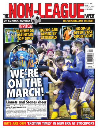 The Non-League Football Paper 19th January 2020