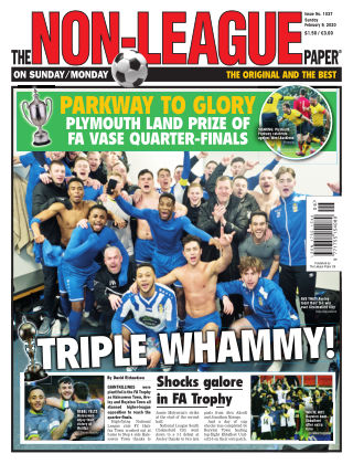 The Non-League Football Paper 9th February 2020