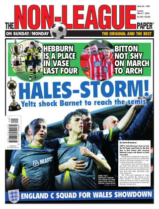 The Non-League Football Paper 1st March 2020