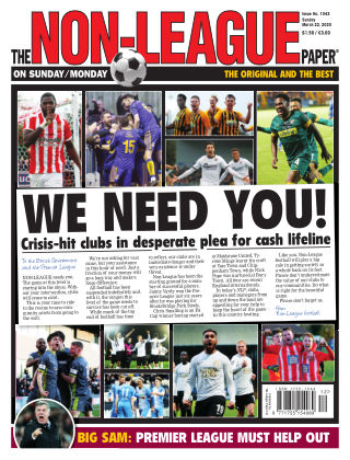 The Non-League Football Paper 22nd March 2020