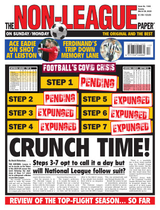 The Non-League Football Paper 29th March 2020