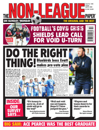 The Non-League Football Paper 5th April 2020