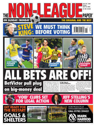 The Non-League Football Paper 12th April 2020