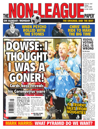 The Non-League Football Paper 19th April 2020