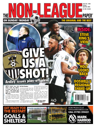 The Non-League Football Paper 26th April 2020