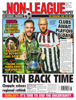 The Non-League Football Paper 3rd May 2020