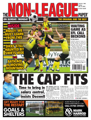 The Non-League Football Paper 10th May 2020