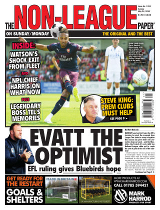 The Non-League Football Paper 24th May 2020