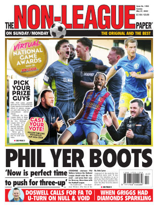 The Non-League Football Paper 31st May 2020