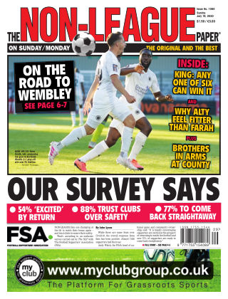 The Non-League Football Paper 19th July 2020