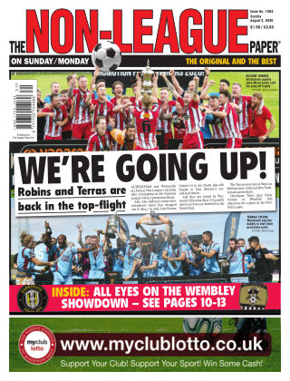 The Non-League Football Paper 2nd August 2020