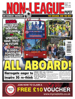 The Non-League Football Paper 9th August 2020