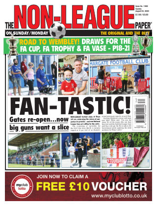 The Non-League Football Paper 23rd August 2020