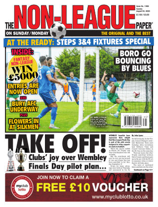 The Non-League Football Paper 30th August 2020