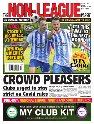 The Non-League Football Paper 13th September 2020