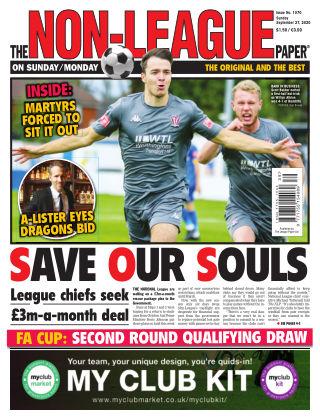 The Non-League Football Paper 27th September 2020