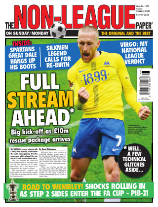The Non-League Football Paper 4th October 2020
