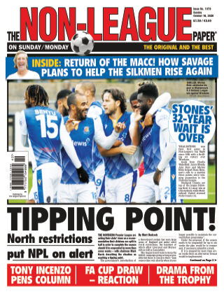 The Non-League Football Paper 18th October 2020