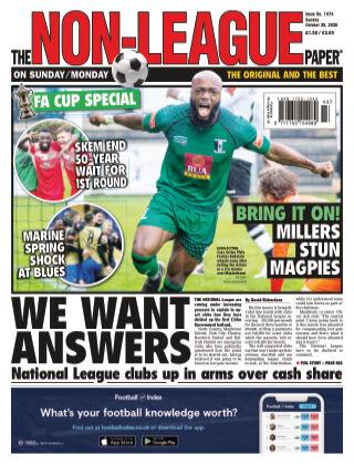 The Non-League Football Paper 25th October 2020