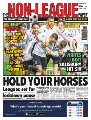 The Non-League Football Paper 1st November 2020