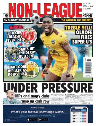 The Non-League Football Paper 15th November 2020
