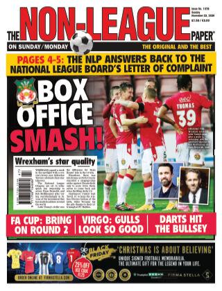 The Non-League Football Paper 22nd November 2020
