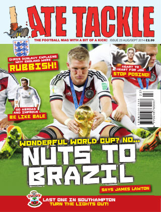 Late Tackle Football Magazine Aug - Sep 2014