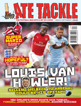 Late Tackle Football Magazine September 2014