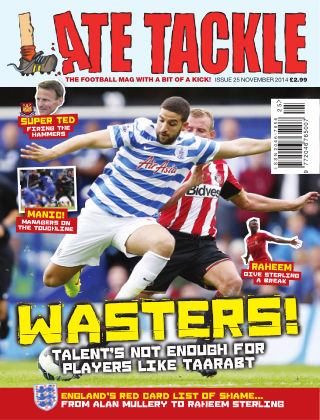 Late Tackle Football Magazine November 2014