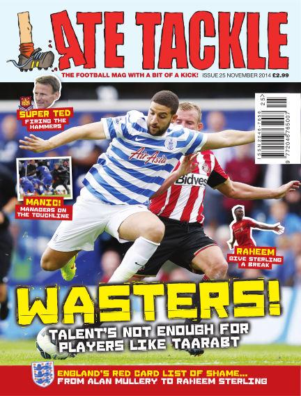 Late Tackle Football Magazine November 06, 2014 00:00